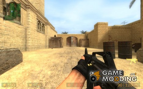 Colt 9mm Smg for Counter-Strike Source