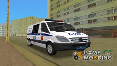 Mercedes-Benz Sprinter 211 CDI ДПС for GTA Vice City