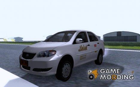 Toyota Corolla - LOLEK TAXI для GTA San Andreas