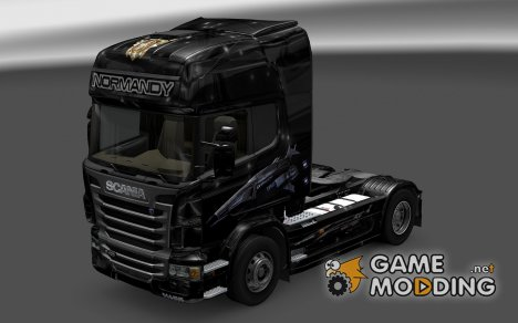 Скин Normandy SR1 для Scania R for Euro Truck Simulator 2