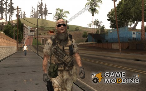 Crysis 2 US Soldier FaceB2 Bodygroup B for GTA San Andreas