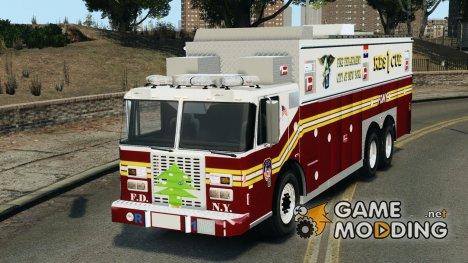 FDNY Rescue 1 [ELS] for GTA 4