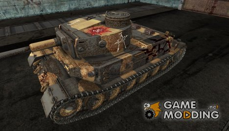 Шкурка для Pz. VI Tiger (P) (Вархаммер) for World of Tanks
