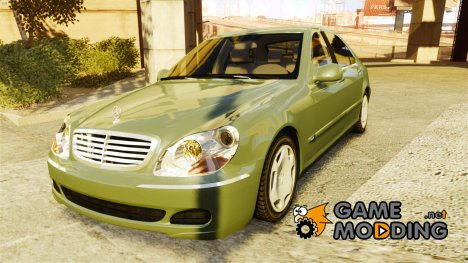 Mercedes-Benz S600 Special Edition for GTA 4