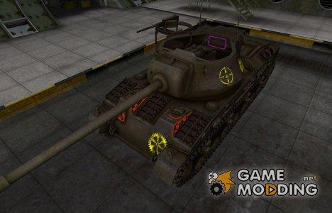 Контурные зоны пробития T28 Prototype for World of Tanks