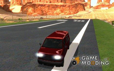 Burrito из ГТА 4 for GTA San Andreas