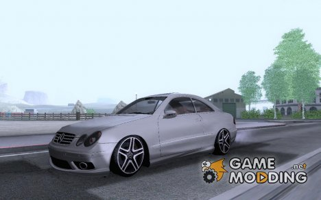 Mercedes-Benz CLK 55 AMG Coupe for GTA San Andreas