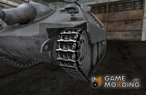Замена гусениц для немецких танков