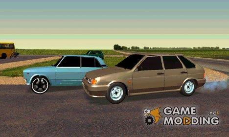 Сборник автомобилей ВАЗ для GTA San Andreas