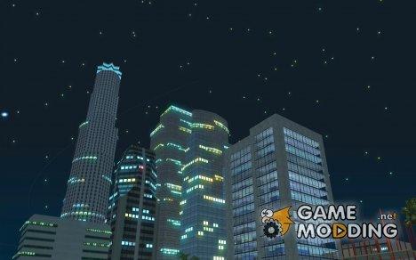 Звездное небо V2.0 (Для Одиночной игры) для GTA San Andreas