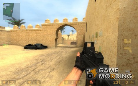 ManTuna's G36/C Animations для Counter-Strike Source