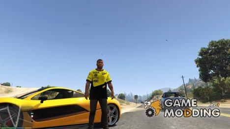 Футболка игрока Natus Vincere для Франклина для GTA 5