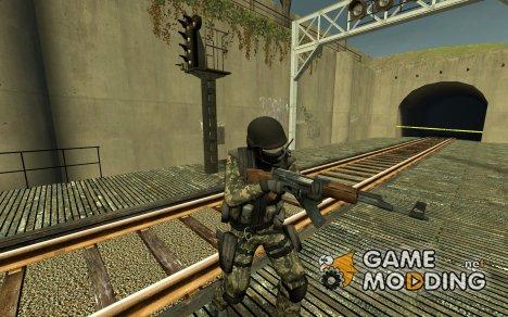 Ks Woodland Camo Urban for Counter-Strike Source