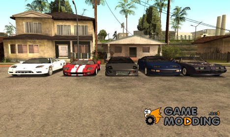 """Реальные прототипы машин  """"SMDA"""" для samp by fak для GTA San Andreas"""