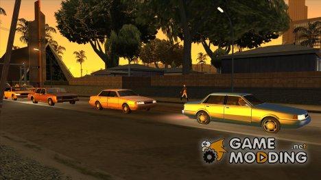 Солнечные отражения v.2 для GTA San Andreas
