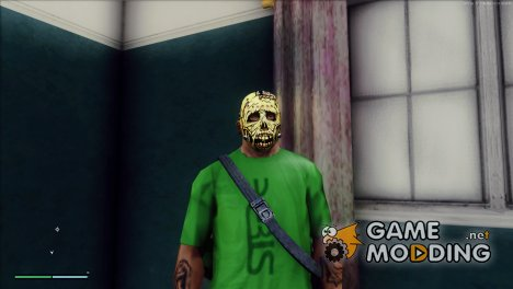 Zombie mask for GTA San Andreas