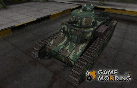 Скин с камуфляжем для D1 для World of Tanks