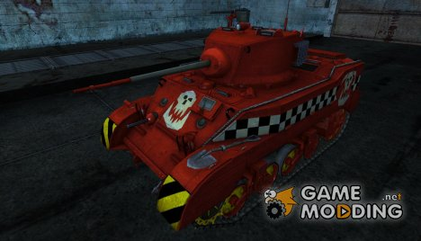 M5 Stuart от Jack_Solovey for World of Tanks