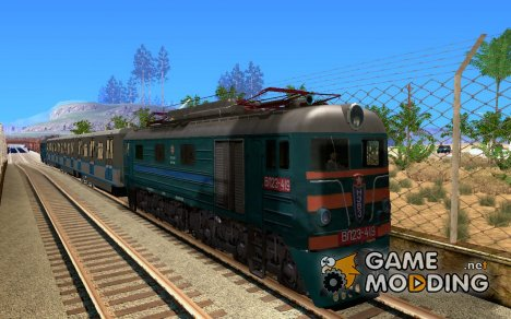Локомотив VL23-419 for GTA San Andreas