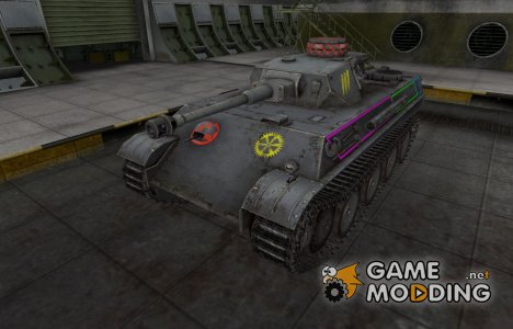 Контурные зоны пробития PzKpfw V/IV for World of Tanks