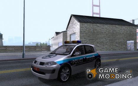Israeli Megane Police для GTA San Andreas