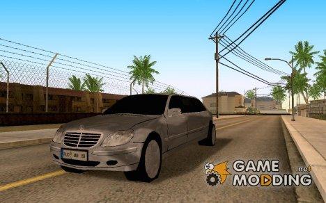 Mercedes-Benz S600L Pullman for GTA San Andreas
