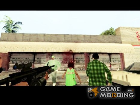 HEADSHOT Выстрел в голову for GTA San Andreas