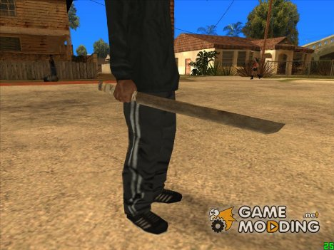 Катана (Постапокалипсис) для GTA San Andreas