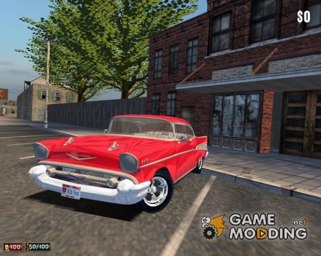Chevrolet Bel Air Hardtop 1957 for Mafia: The City of Lost Heaven