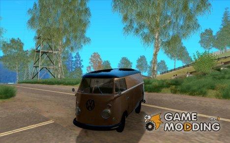 Volkswagen Transporter T1 Van 1958 для GTA San Andreas