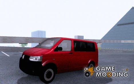 Volkswagen Transporter T5 Facelift 2011 для GTA San Andreas