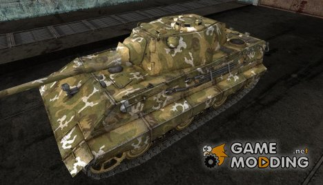 Шкурка для E-50 Лесной камуфляж для World of Tanks