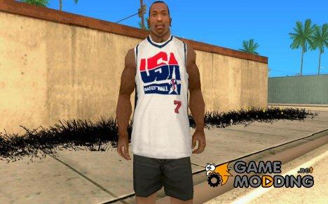 Форма сборной США по баскетболу for GTA San Andreas