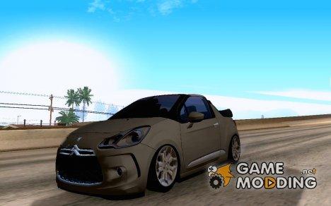Citroen DS3 Convertible для GTA San Andreas