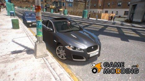 Jaguar XF-R 2012 для GTA 4