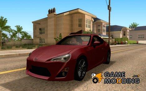 Toyota 86 GT Limited 2012 for GTA San Andreas
