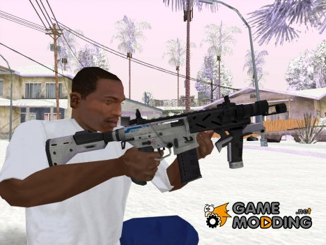 Новый MP5 for GTA San Andreas