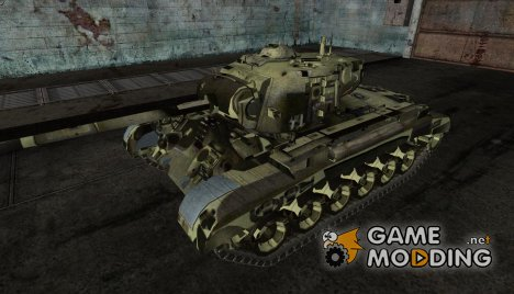 M26 Pershing (Американский танк доставленный в СССР по Ленд-лизу) для World of Tanks