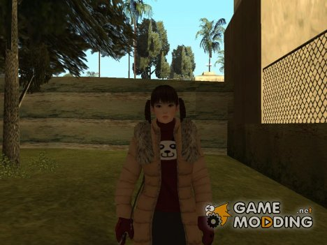 Dead Or Alive 5 Lei Fang for GTA San Andreas