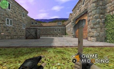 CS Hatchet for Counter-Strike 1.6