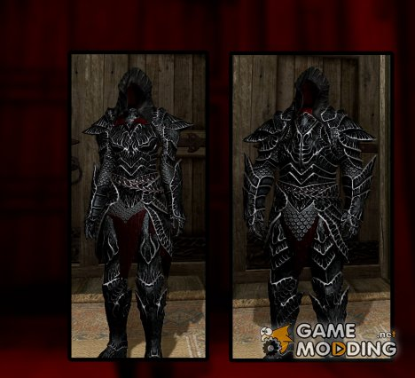 Liliths Black Sun Armor Set for TES V Skyrim
