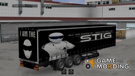The Stig Trailer for Euro Truck Simulator 2
