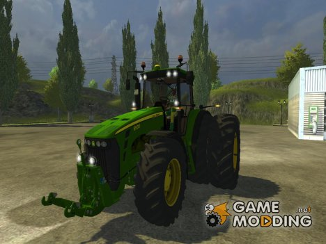 John Deere 8530 v3.0 для Farming Simulator 2013