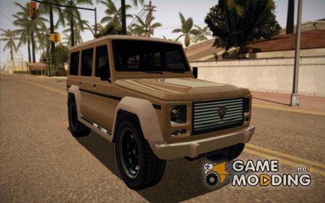 GTA V Benefactor Dubsta for GTA San Andreas