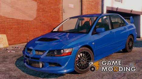 Mitsubishi Lancer EVO 8 MR Tunable for GTA 5