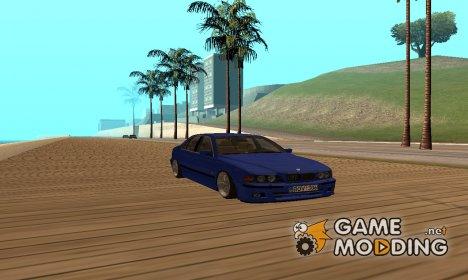 BMW E39 525 для GTA San Andreas