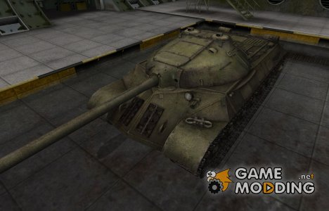 Шкурка для ИС-3 в расскраске 4БО for World of Tanks