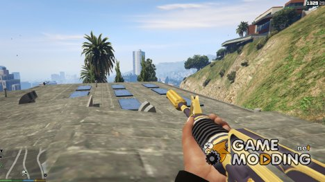 M4A1-S Golden Coil for GTA 5