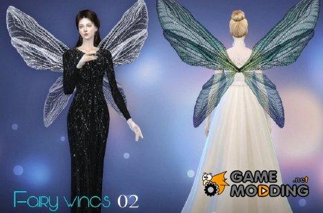 Крылья феи № 02 for Sims 4