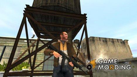 Автомат AK-47 Tactical Gear for GTA 4